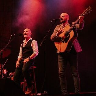Bookends perform Simon & Garfunkel
