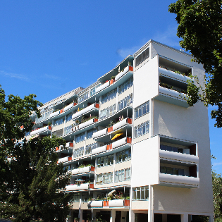 bauhaus_tour: Das Hansaviertel 1957