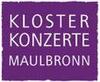 Klosterkonzerte Maulbronn