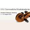 Sommerliche Musikakademie