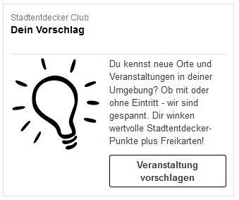 Vorschläge zu Veranstaltungen - Hilfe | TwoTickets.de